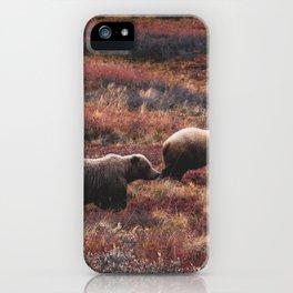 Alaskan Grizzlies iPhone Case