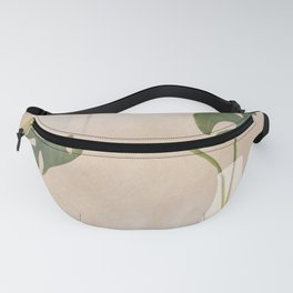 A Couple of Monstera Leaves Fanny Pack