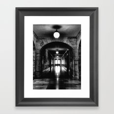 To the Light Framed Art Print