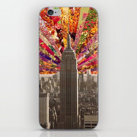 BLOOMING NY iPhone & iPod Skin