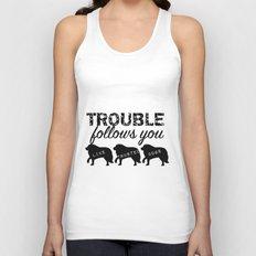 Trouble Unisex Tank Top