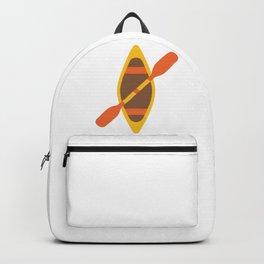 Kayak Boat Emoji Backpack