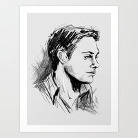 dean winchester Art Prints featuring Dean Winchester by charlotvanh
