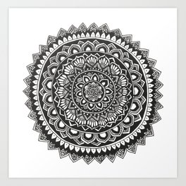 Singapore Mandala Art Print