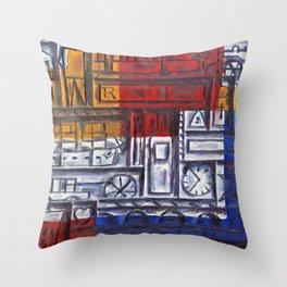 Composicion constructiva II - Joaquin Torres Garcia Throw Pillow