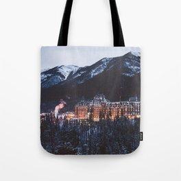 Banff Springs Hotel II Tote Bag