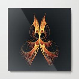 Fractality - Phi Metal Print