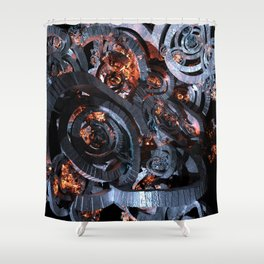 Synctorii Shower Curtain
