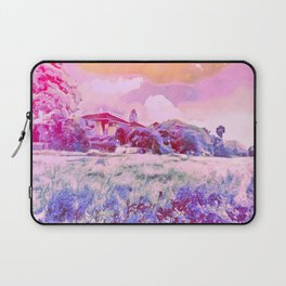 In A Field Of Roses She Is A Wild Flower Laptop Sleeve
