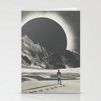 interstellar Stationery Cards featuring Interstellar by Douglas Hale