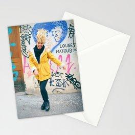Parisian Mugshots - The Graffiti Smile (Gueules de Parisiens) Stationery Cards