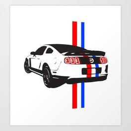 2013 Mustang Art Print
