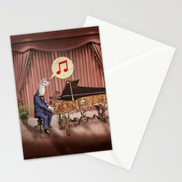 LA-LA-LA-Llama! Stationery Cards