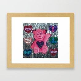 SWEET BEAR Framed Art Print