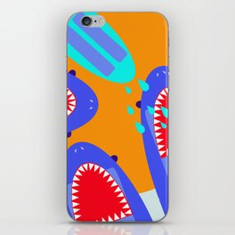 Sharksicles iPhone Skin