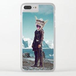 My Dear Buccaneer Clear iPhone Case