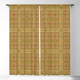 Florida Stitchings Blackout Curtain