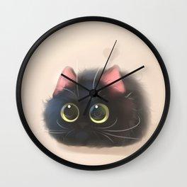 Fluffy Sushi Wall Clock