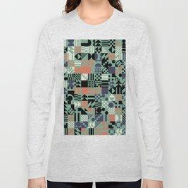RAND PATTERNS #173: Procedural Art Long Sleeve T-shirt
