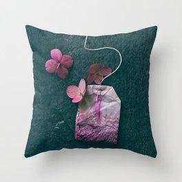 The Art of Tea II Throw Pillow