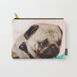 Party pug puppy print Carry-All Pouch