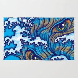 Spirit of the waves Rug
