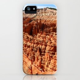 Bryce Canyon View At Sunset Point iPhone Case