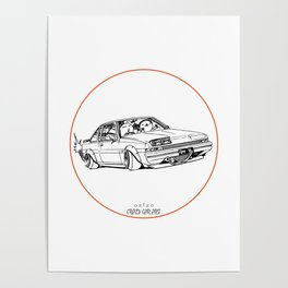 Crazy Car Art 0220 Poster