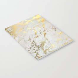 Gold marble Notebook