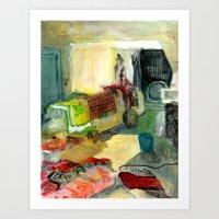 30 E. Main Street, No. 13. Art Print