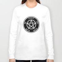 pentagram Long Sleeve T-shirts featuring Pentagram by Urban Monk Store