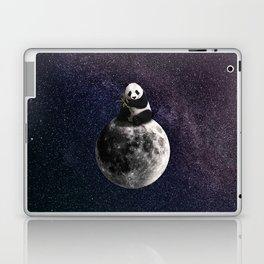 panda on the moon. Laptop & iPad Skin