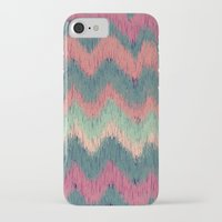 ikat iPhone & iPod Cases featuring IKAT CHEVRON by Nika