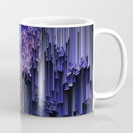 glitchy rain Coffee Mug