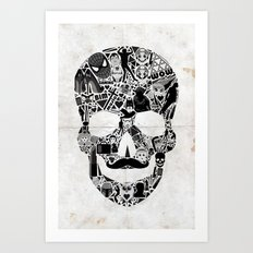 My Skull Art Print