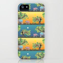 Giraffe & friends iPhone Case