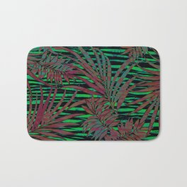 With the Heat of the Jungle, Comes the Cool of the Night Bath Mat