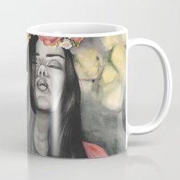 Fox & Flowers Coffee Mug
