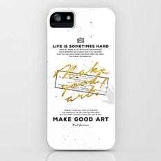 Make Good Art - Neil Gaiman iPhone (5, 5s) Slim Case