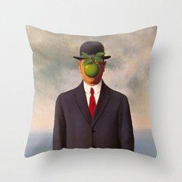 The Son of Man Throw Pillow