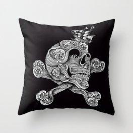 A Pirate Adventure Throw Pillow
