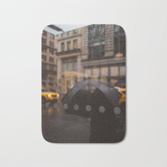 Rainy Manhattan Bath Mat