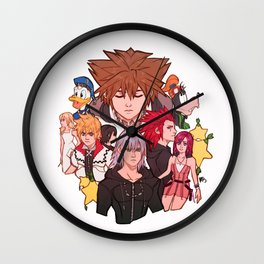 Kingdom hearts 2 Wall Clock