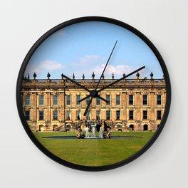 Chatsworth House Wall Clock