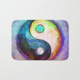 Yin Yang - Colorful Painting V Bath Mat