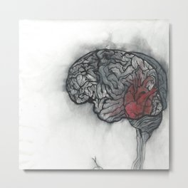 From Head to Heart Metal Print