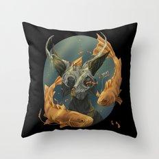Fate fish  Throw Pillow