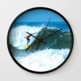 Surf en Zicatela 1 Wall Clock