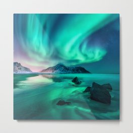 Aurora Borealis 5 Metal Print