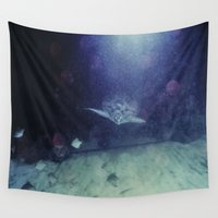 turtle Wall Tapestries featuring Turtle by Dzonatans Jansevics